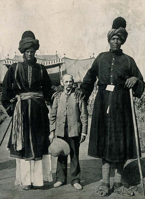 The Kashmir giants, who suffered from a more severe form of gigantism