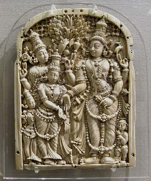 The Marriage of Shiva & Parvati: The Wedding of The Charming One. (CC BY SA 2.5)