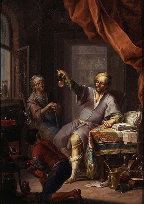 'The Medical Alchemist' by Franz Cristoph Janneck. (Public Domain)