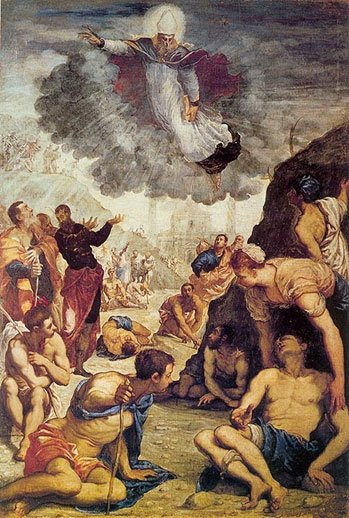 Tintoretto - The Miracle of St. Augustine