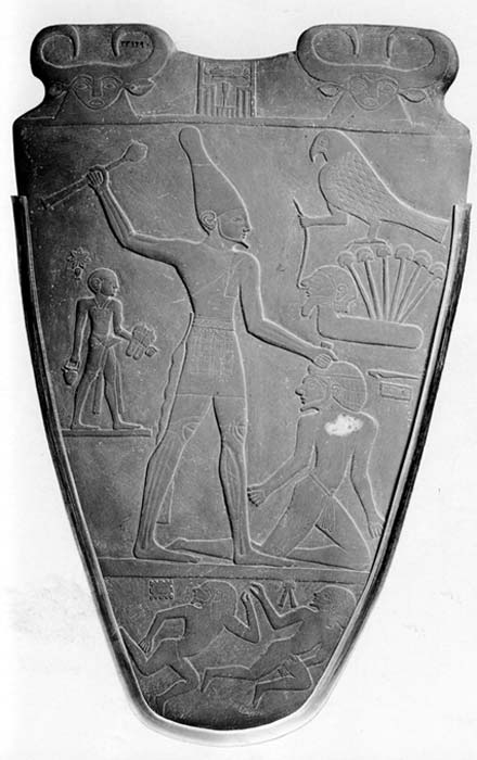 The Narmer palette. © Adriano Forgione