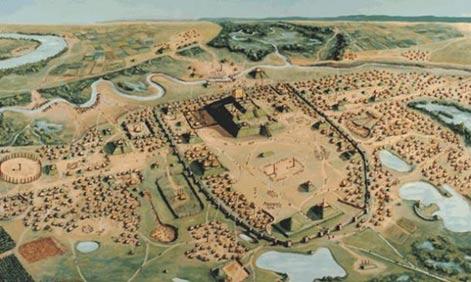 The Native America city of Cahokia - Diez Ciudades increíbles desde el Mundo Antiguo