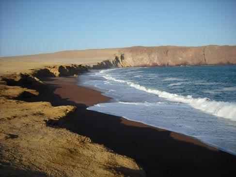 The Paracas Coastline
