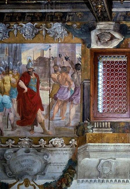 'The Pride of Romulus' (16th century).