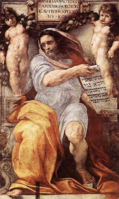 'The Prophet Isaiah' (1511-1512) by Raphael. (Public Domain)