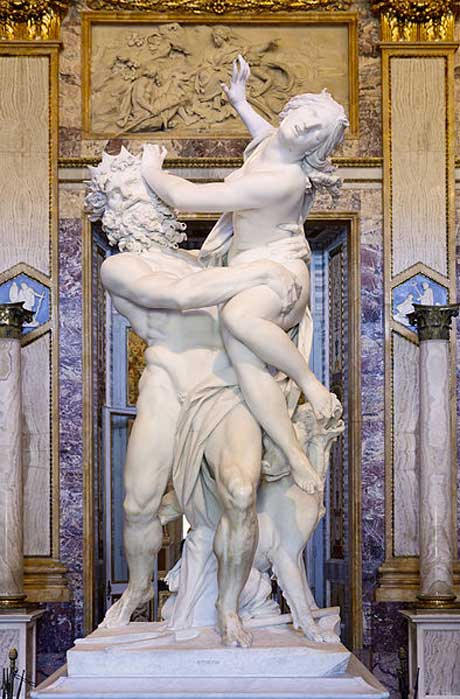 'The Rape of Proserpine' (1621-1622) by Gian Lorenzo Bernini.