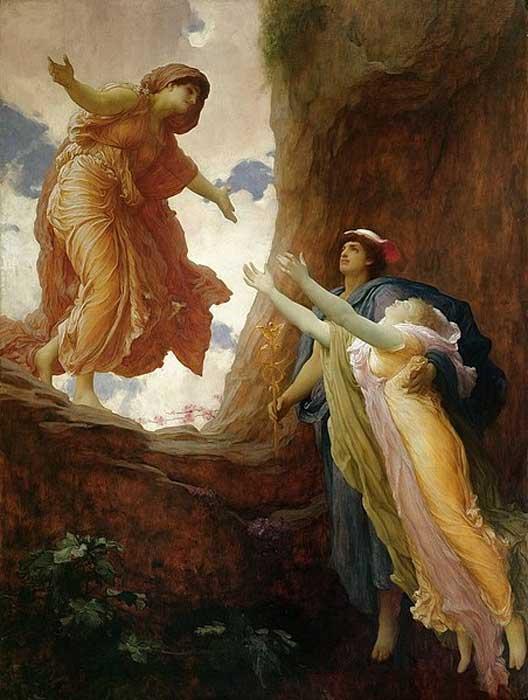 'The Return of Persephone' (1891) Frederic Leighton.