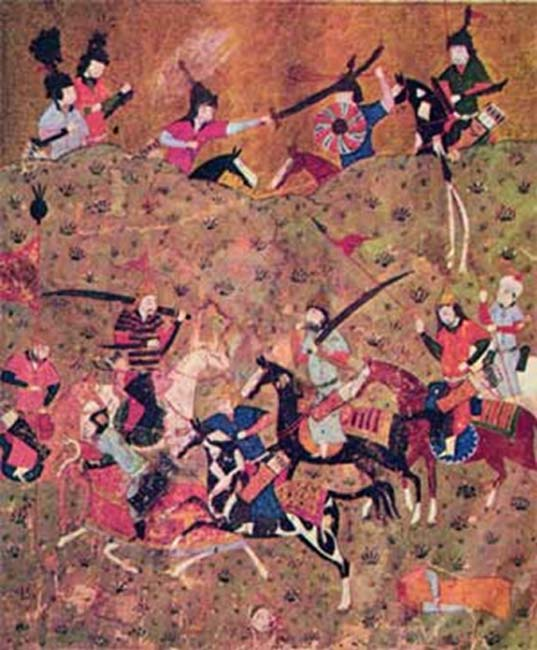 The Seljuks defeated the Ghaznavids at the Battle of Dandanaqan. (Public Domain)