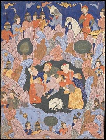 Los siete durmientes de Éfeso descubiertos por Alejandro Magno