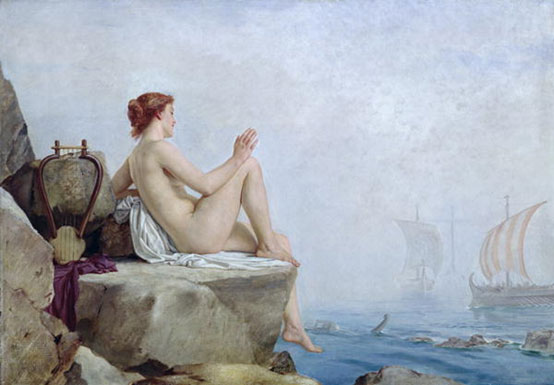 The Siren, Edward Armitage