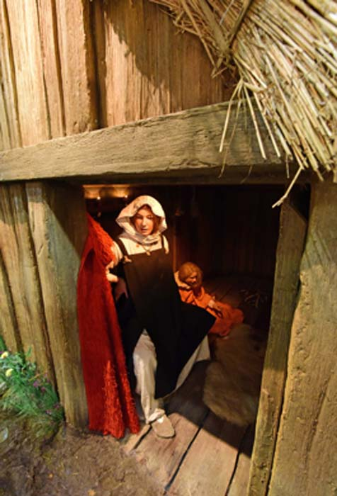 The Viking home had shared spaces. (Jorvik Viking Centre / Fair Use)