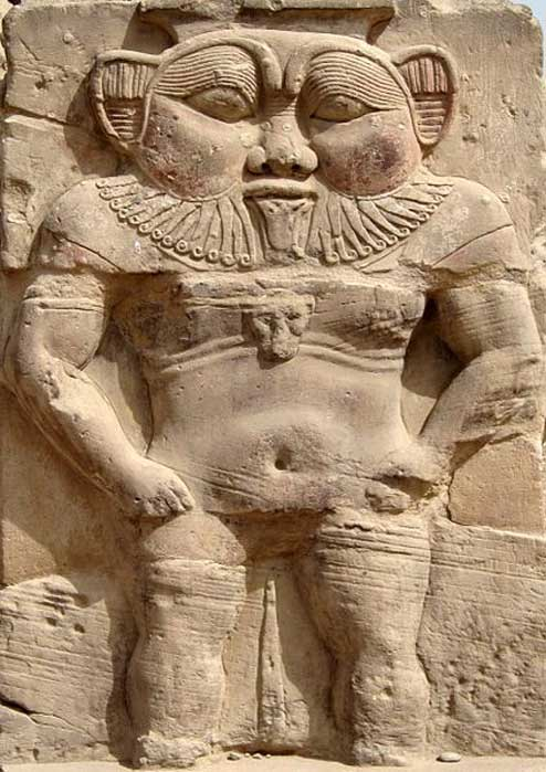 The ancient Egyptian dwarf deity Bes, as depicted on a relief at Dendera. (Olaf Tausch/CC BY 3.0) In ancient Egypt, especially during the Early Dynastic and Old Kingdom periods, dwarfs and pygmies were seen as people with celestial gifts.