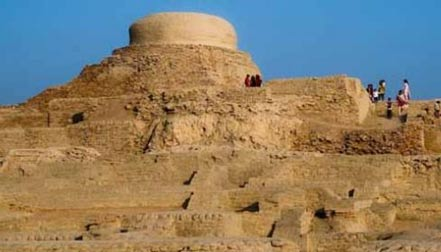 The ancient city of Mohenjo Daro