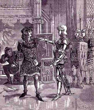 The arrest of Gilles de Rais