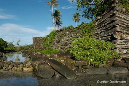 The coral reef city of Nan Madol - Diez Ciudades increíbles desde el Mundo Antiguo