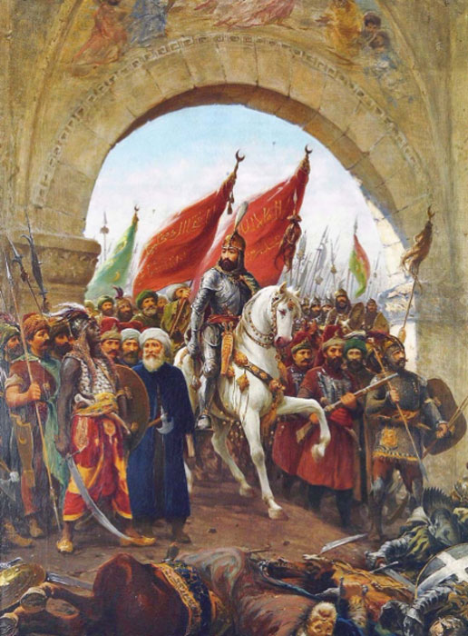 The entry of Sultan Mehmed into Constantinople, the fall of the Byzantine Empire. (Karamanli86 / Public Domain)