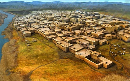 The honeycomb city of Çatalhöyük