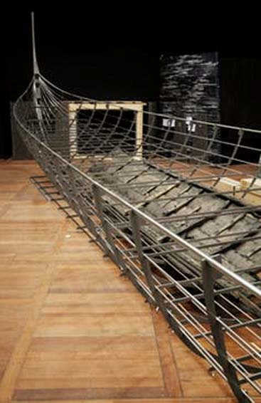 The largest Viking ship ever discovered. The British Museum. (Source: The Conversation)