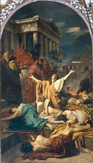 The martyrdom of the Maccabees (1863) by Antonio Ciseri.