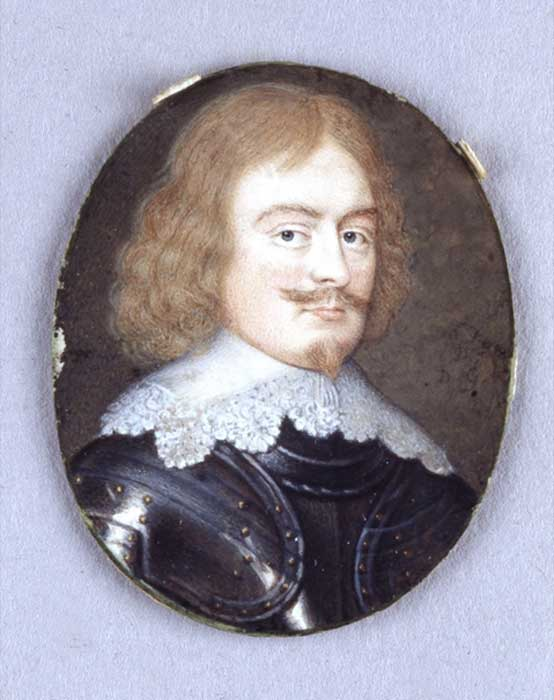 The miniature portrait of Sir Bevil Grenville.