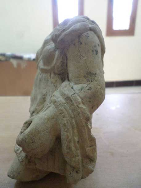 The newly-discovered statue of Artemis. Credit: Egypt's Ministry of Antiquities