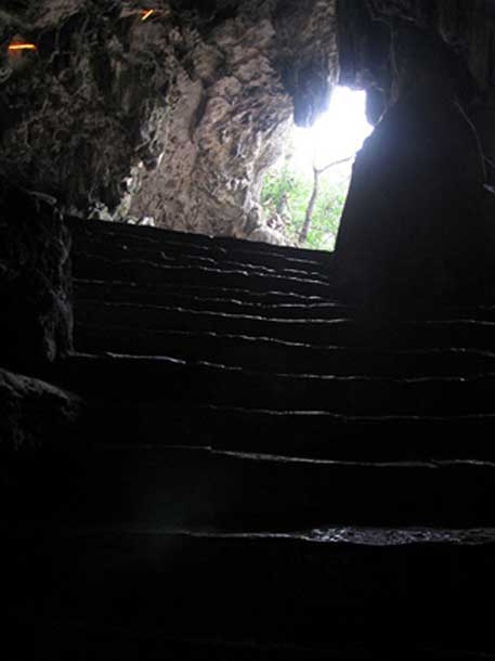 The public entrance to the Unicorn Cave or Einhornhöhle