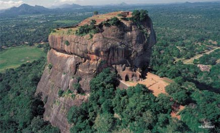 The rock city of Sigiriya