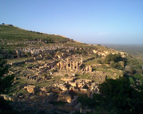 The ruins of Cryrene - Libya