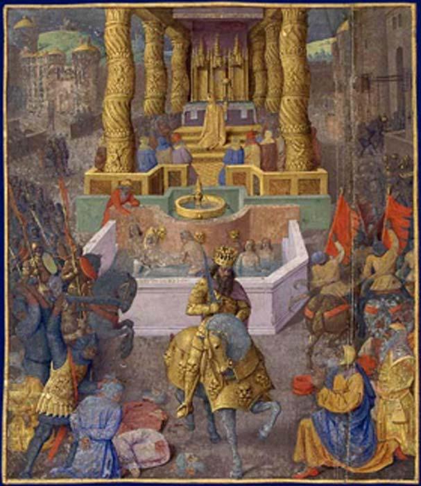 The taking of Jerusalem by Herod the Great. (Yann / Public Domain)