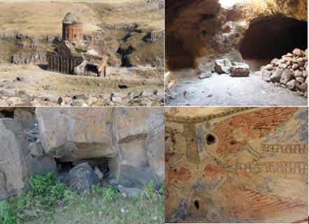 The underground city of Ani - Diez Ciudades increíbles desde el Mundo Antiguo