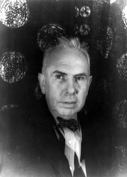 Theodore Dreiser, photographed by Carl Van Vechten.