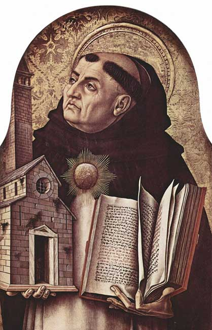 Saint Thomas Aquinas.