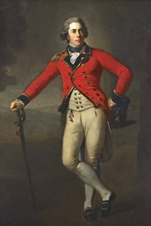 Portrait of Thomas Bruce, 7th Earl of Elgin. 1788.