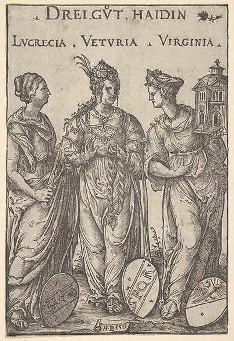 The Three Heathen Heroines.