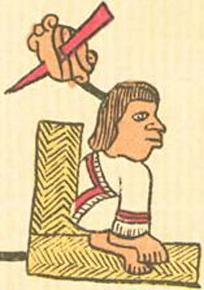 Tizoc in the Codex Telleriano-Remensis.