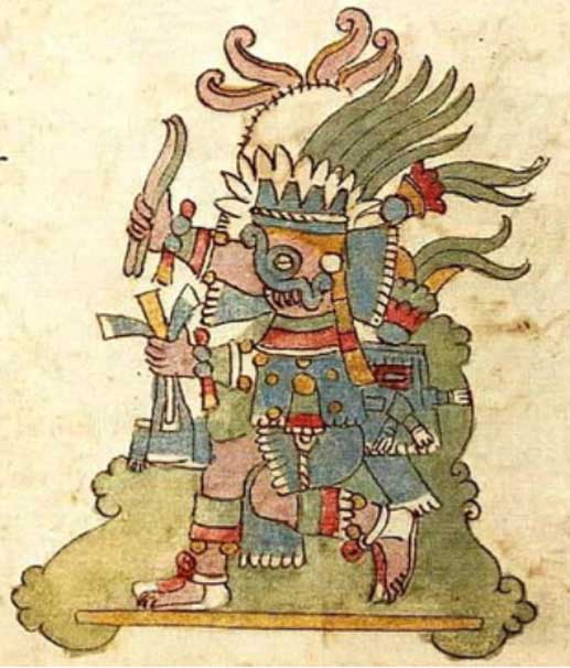 Tlaloc, from Codex Rios p. 20R.