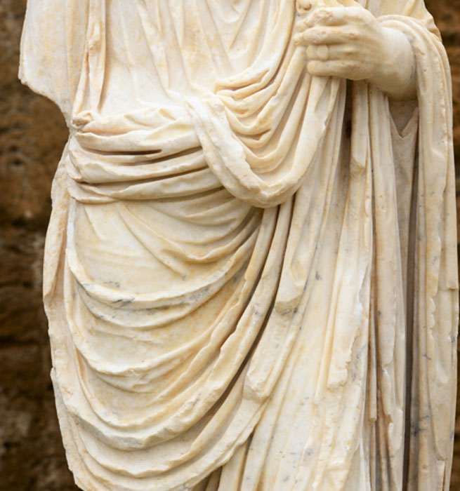 Toga pura of ancient Rome. (rachid amrous / Adobe)