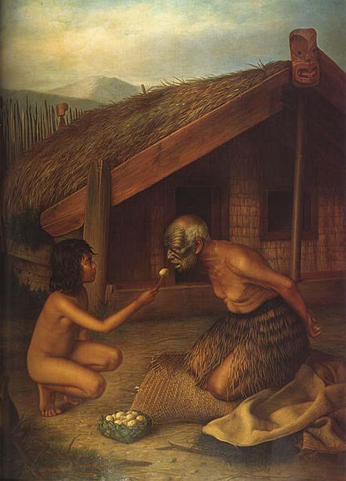 Tohunga under tapu. (Public Domain)