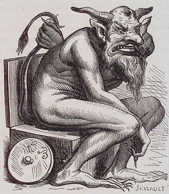 Toilet demon Belphegor
