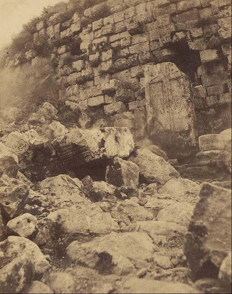 'Tomb of the Christian, Algeria' (1856) photograph by John Beasly Greene.