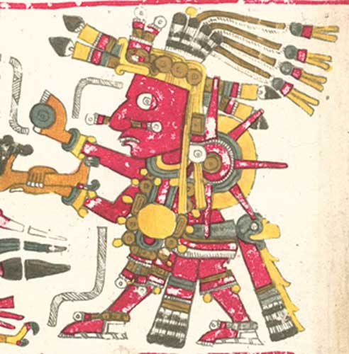 Tonatiuh from the Codex Borgia. (Public Domain)