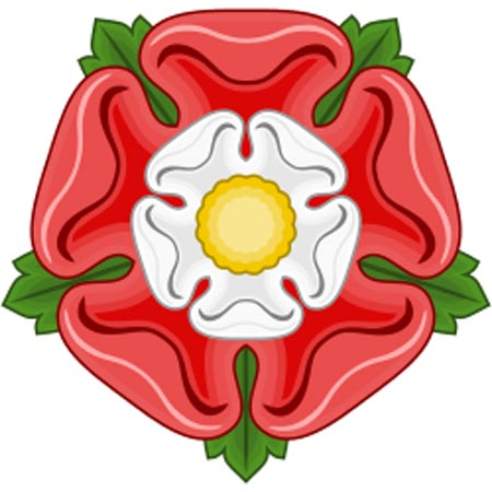The Tudor rose.