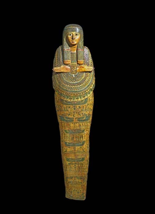The 'Unlucky Mummy'. (Trustees of the British Museum/CC BY NC SA 4.0)