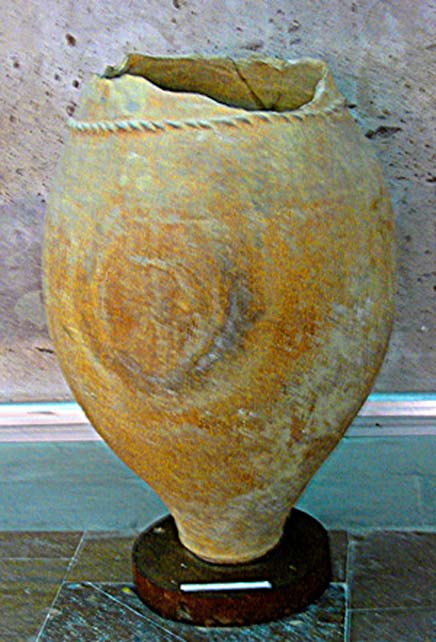 Urartian Wine Pottery.
