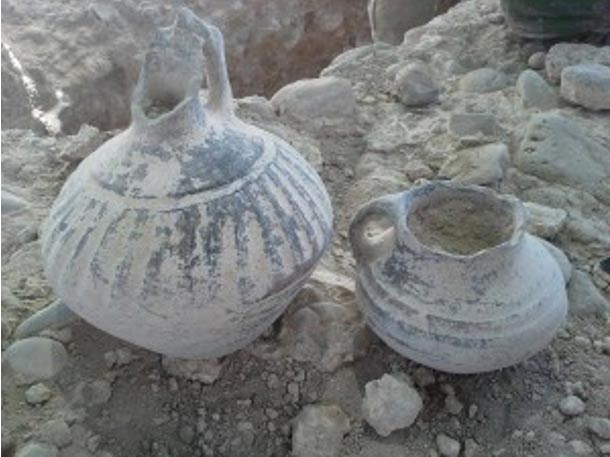Urartian vessels from the necropolis, Karmir Blur, Armenia (Armen Martirosian)