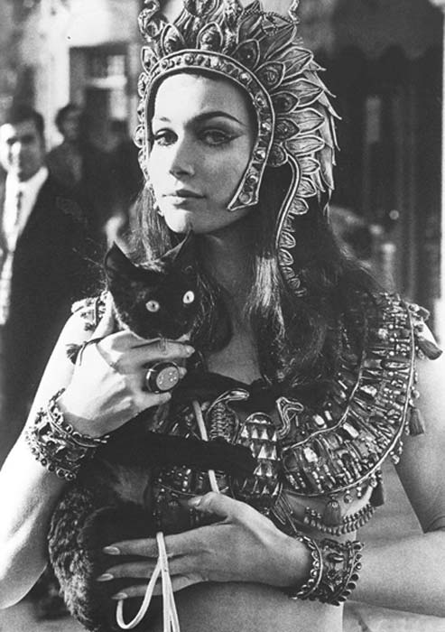 Valerie Leon in 'Blood From the Mummy's Tomb' (1971).