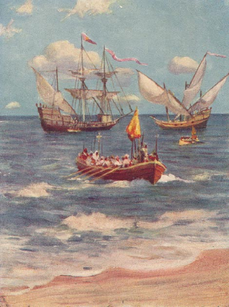Vasco da Gama landing at Calicut. (Piggy58 / Public Domain)