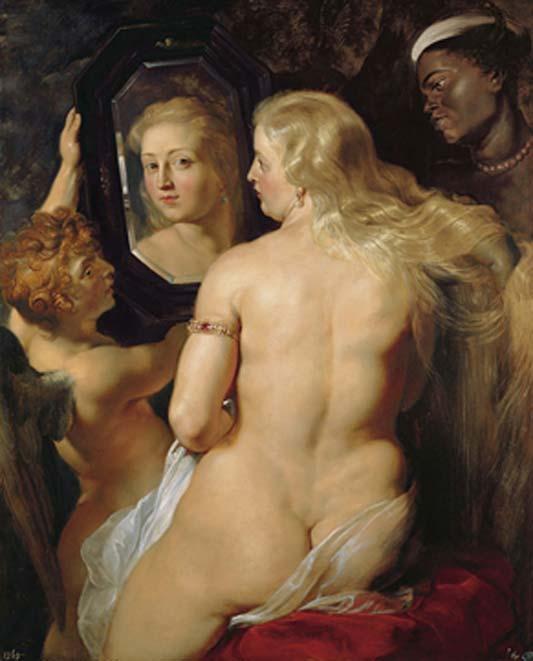 Venus at a Mirror by Peter Paul Rubens. (Public Domain)