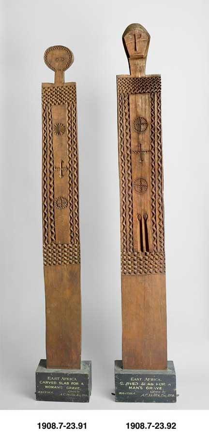 Vigango. (Los Fideicomisarios del Museo Británico / CC BY-NC SA 4.0)