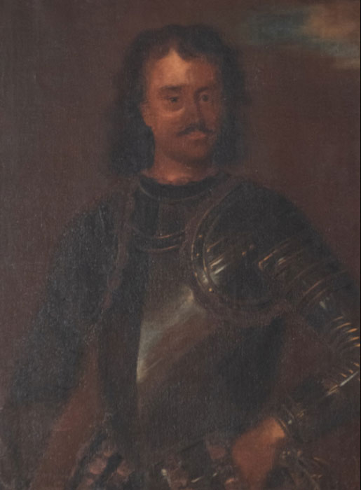 One of the very few existing images of Count Vicko Bujović of Perast by Tripo Cocoglia, 18th C. (Muzejikotor)
